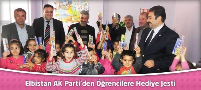 Elbistan AK Parti'den Öğrencilere Hediye Jesti