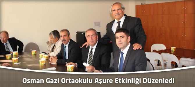 Merkez Osman Gazi Ortaokulunda  Aşure Günü