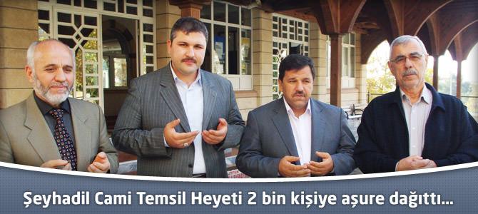 Şeyhadil Cami Temsil Heyeti 2 bin kişiye aşure dağıttı…