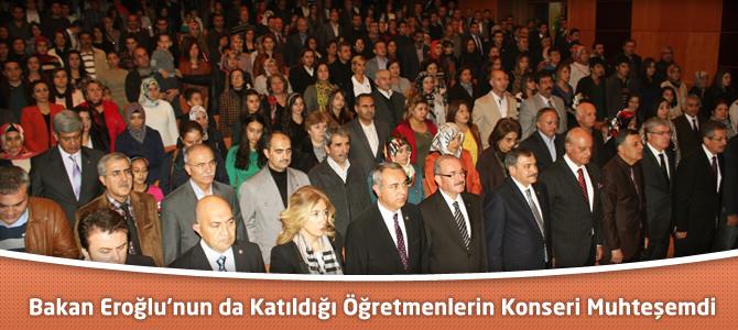 Kahramanmaraş'ta ki Öğretmenlerin Türk Müziği Konseri Muhteşem Oldu