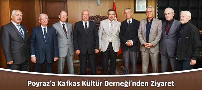 Poyraz'a Kafkas Kültür Derneği'nden Ziyaret