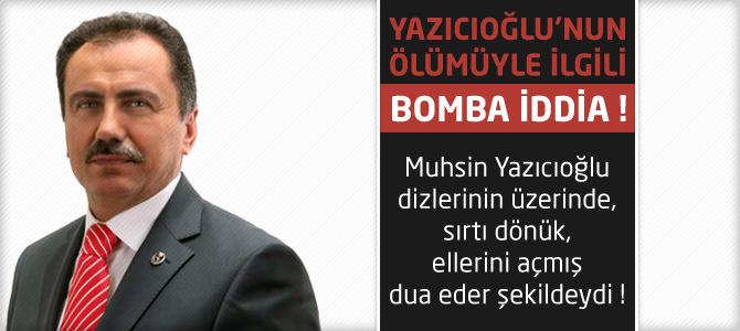 Muhsin Yazıcıoğlu'nun kaza sonrası namaz kılan fotoğrafı ortaya çıktı