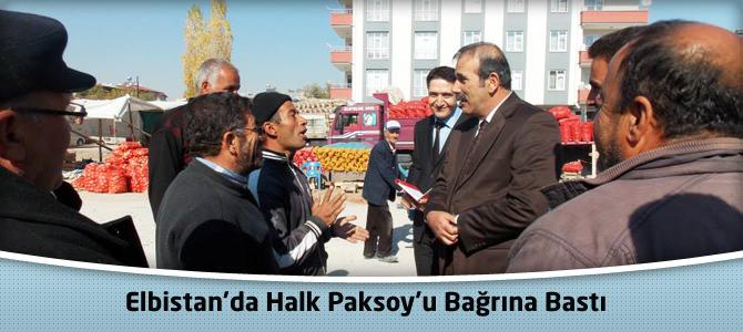 Elbistan'da Halk Paksoy'u Bağrına Bastı