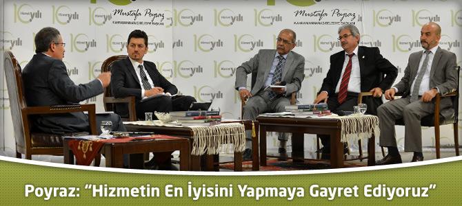 """Başkan Poyraz: """"Hizmetin En İyisini Yapmaya Gayret Ediyoruz"""""""