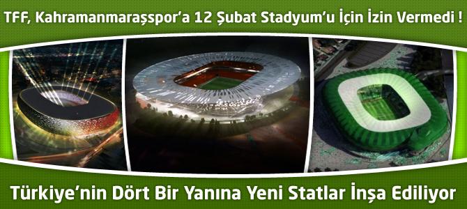 Türkiye'ye Çağ Atlattıracak Stadyum Projeleri