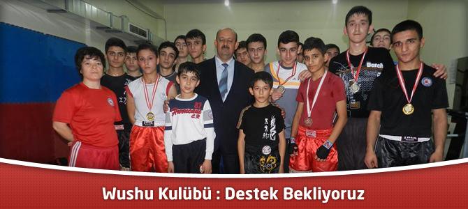 Kahramanmaraş Suzan ve Abdulhakim Bilgili Wushu Kulübü : Destek Bekliyoruz
