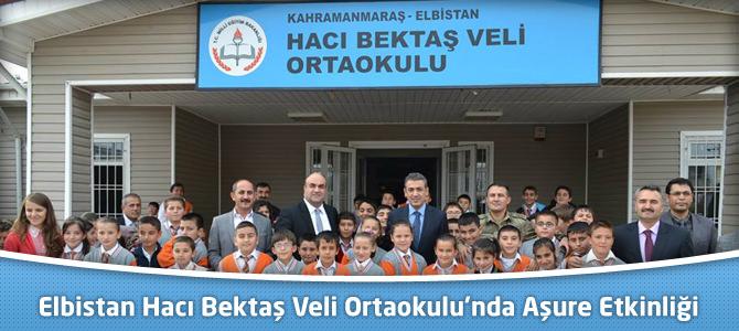 Elbistan Hacı Bektaş Veli Orta Okulu'ndan Aşure İkramı