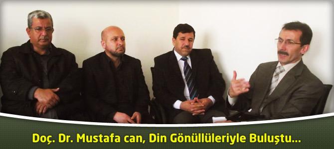 Doç. Dr. Mustafa can, Din Gönüllüleriyle Buluştu…
