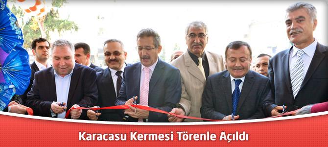 Karacasu Kermesi Törenle Açıldı