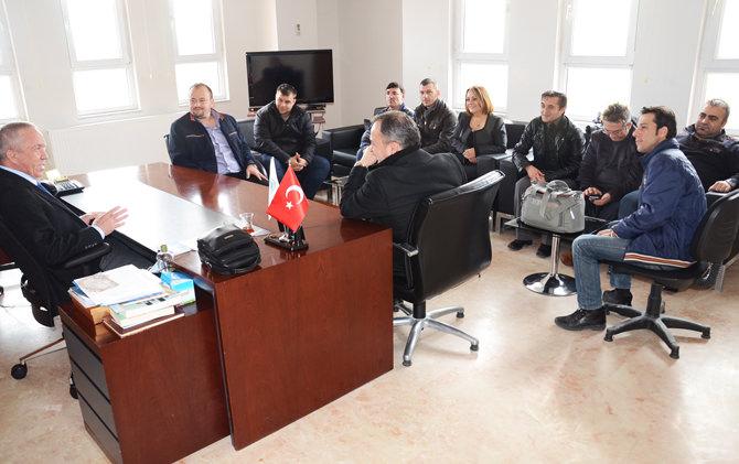 Çorlu Gazeteciler Derne_i'nden Marmarac_k Belediye Ba_kan_ Bulut'a Ziyaret 02
