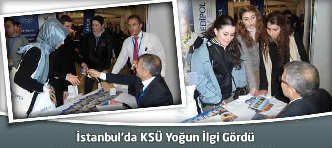 İstanbul'da KSÜ Yoğun İlgi Gördü