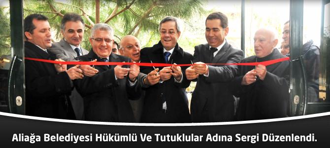 Alağa Belediyesi Hükümlü Ve Tutuklular Adına Sergi Düzenlendi.