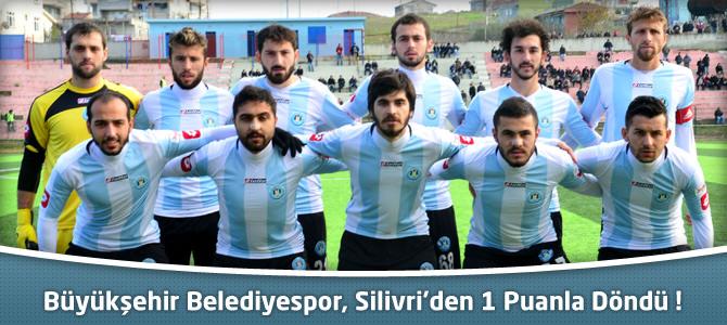 Kahramanmaraş Büyükşehir Belediyespor 1 – 1 Silivrispor Maçı