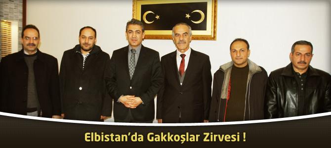 Elbistan'da Gakkoşlar zirvesi!