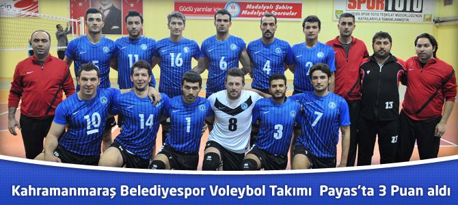 Belediyespor Voleybol Takımı Paya'tan 3 Puanla Döndü