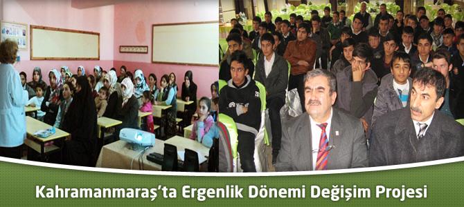 Kahramanmaraş'ta Ergenlik Dönemi Değişim Projesi