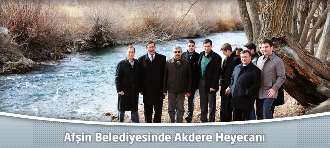 Afşin Belediyesinde Akdere Heyecanı