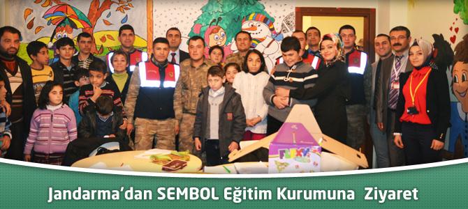 Jandarma'dan Sembol Eğitim Kurumuna  Ziyaret