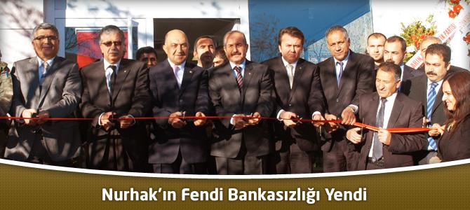 Nurhak'ın Fendi Bankasızlığı Yendi