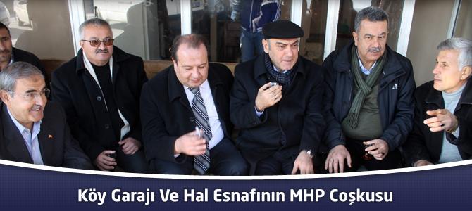 Köy Garajı Ve Hal Esnafının MHP Coşkusu