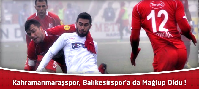 Balıkesirspor 3 – Kahramanmaraşspor 1 Maçın özeti ve golleri