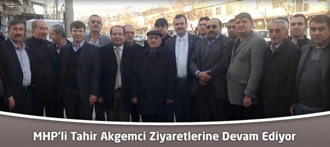 MHP'li Tahir Akgemci Kahramanmaraş'ta Ziyaretlerine Devam Ediyor
