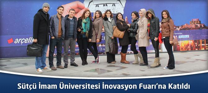 Kahramanmaraş Sütçü İmam Üniversitesi İnovasyon Fuarı'na Katıldı