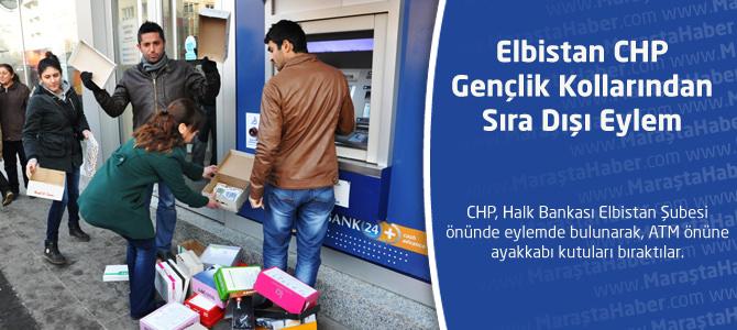 Elbistan CHP Gençlik Kollarından Sıra Dışı Eylem