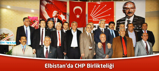 Elbistan'da CHP Birlikteliği