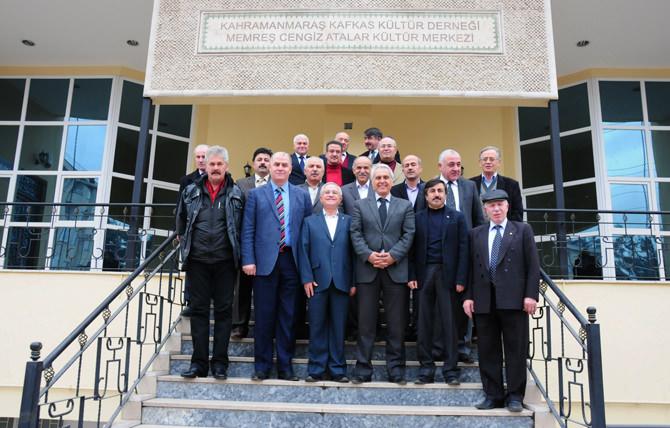 Başkan Aydoğan'dan Kafkas Derneğine Ziyaret