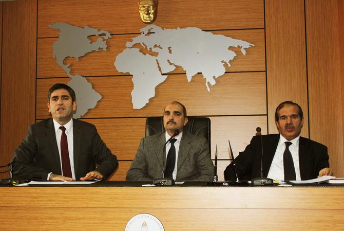 Merkez İlçe Milli Eğitim Müdürleri Toplantı Düzenledi