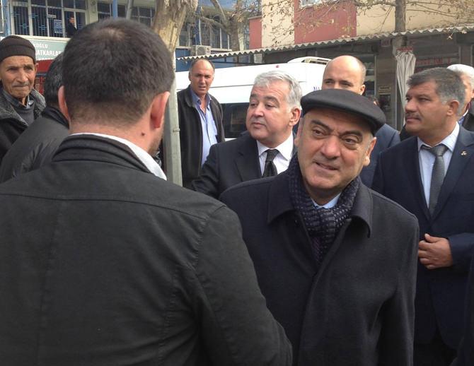 Türkoğlu, Tahir Akgemci'yi Bağrına Bastı