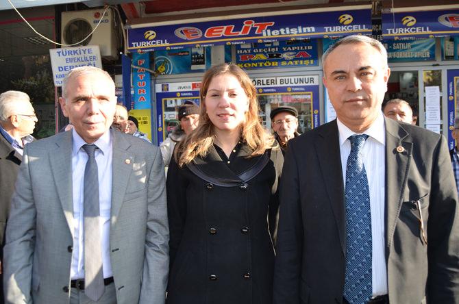 Neslihan Koca Nergiz'den Emekliler Derneği'ne Ziyaret