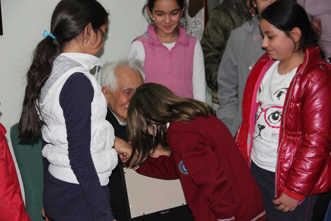 Ünlü Şair Bahaettin Karakoç Genç Yeteneklerle Söyleşi Yaptı