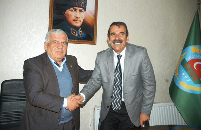 MHP Elbistan Belediye Başkan Adayı Paksoy EZO'yu Ziyaret Etti