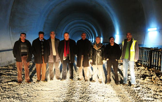 Başkan Fazlı Aydoğan Tünel Çalışmalarını Yerinde İnceledi