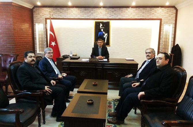 Milletvekili Güvenç'ten Kaymakam Akkoyun'a Ziyaret
