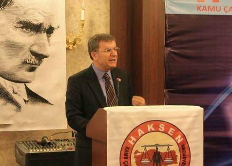 """HAKSEN Genel Başkanı Ayhan Çivi:""""Kavgaya Ne Tarafız Ne Taraftar"""""""