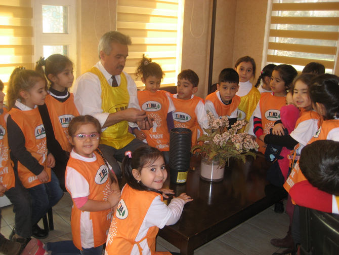 Senem Ayşe Anaokulu'nun Minikleri TEMA Gönüllüsü Oldu