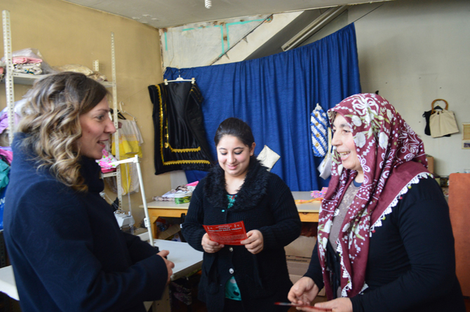 MHP'li Nergiz'e Destek Her Geçen Gün Artıyor