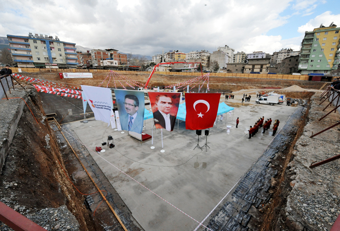 Kahramanmaraş Kültür Parkı'nın Temeli Atıldı