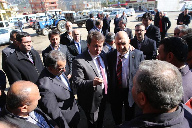 Andırın Halkından Fatih Erkoç'a Sevgi Seli