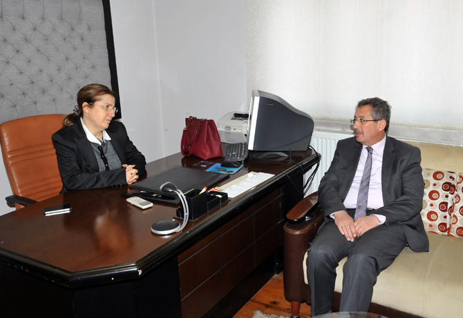 Başkan Poyraz'dan Tabipler Odası'na Ziyaret