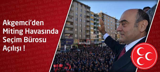 Foto Galeri : Akgemci'den, Miting Havasında Seçim Bürosu Açılışı