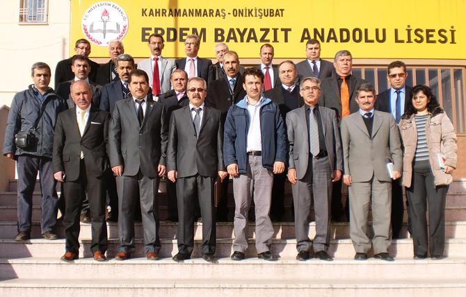 5. Eğitim Bölgesi Müdürler Kurulu Ve Danışma Kurulu Toplantısı Yapıldı