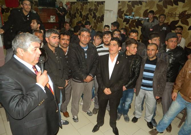 CHP'li Fatih Vicdan Gençlerle Buluştu