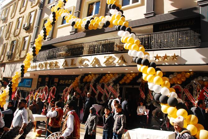 Otel Alcazar Kahramanmaraş'ta Hizmete Girdi