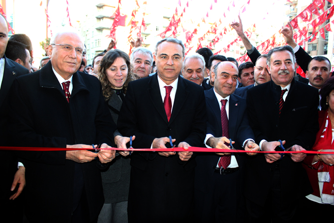 Kahramanmaraş MHP Seçim Bürosu Coşkuyla Açıldı