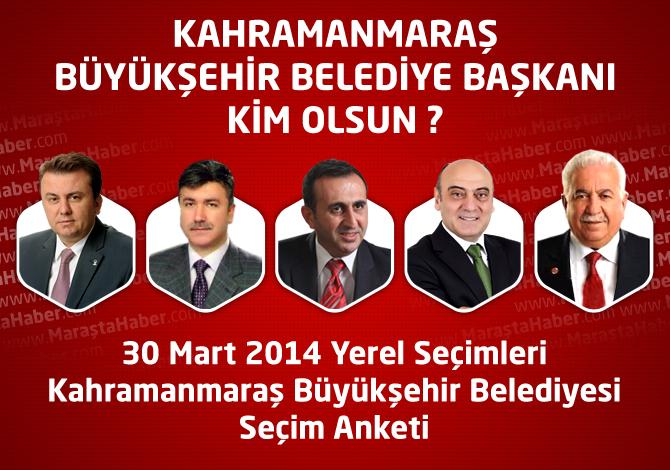 Kahramanmaraş Büyükşehir Belediye Başkanı Kim Olsun ?