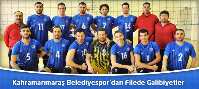 Kahramanmaraş Büyükşehir Belediyespor'dan Filede Galibiyetler